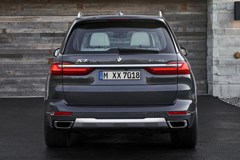 BMW 2019 X7 SUV Unveil Black xDrive40i 50i