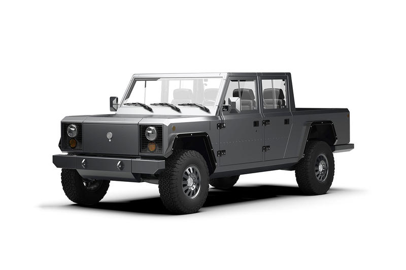 Bollinger Motors Debuts A Fully Electric Pickup Truck
