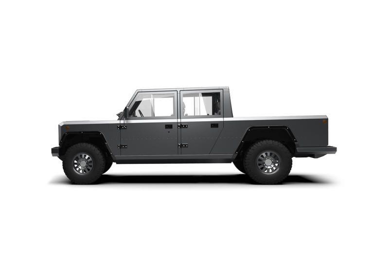 Bollinger Motors electric pickup truck 2020 b2