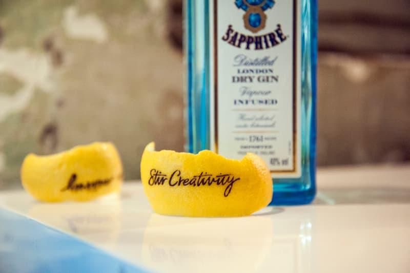 Bombay Sapphire Stir Creativity Launch Event Manchester Gin Street Art Cocktails