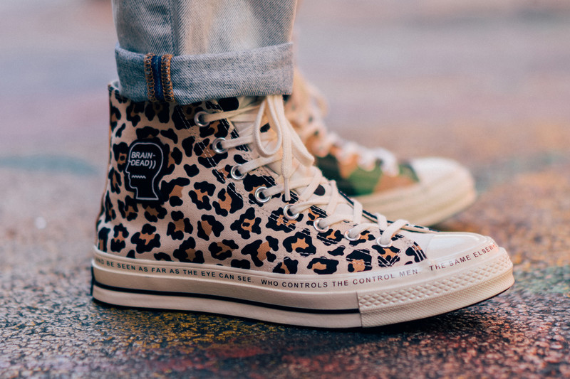7a203f2805e9 An On-Foot Look at the Brain Dead x Converse Chuck Taylor All  70