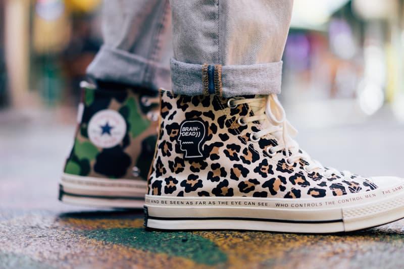 brain dead converse chuck taylor all star 1970 footwear shoes sneakers style streetwear
