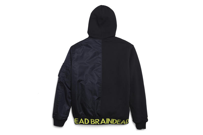 Brain Dead Converse Fall Winter 2018 Collaboration collection drop release date info october 26 2018 shoulder bag tote sweater bomber jacket hoodie sweater patchwork print logo