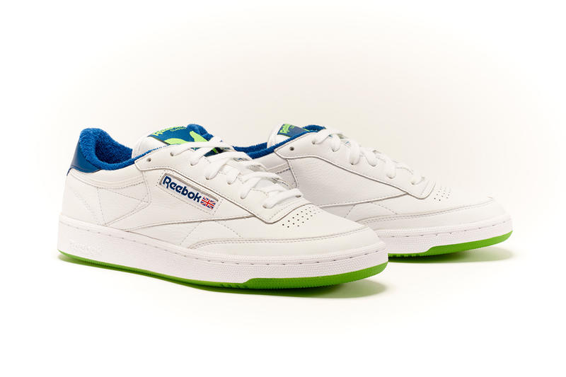 Bronze56K x Reebok Club C Release date sneaker collaboration buy online price info skate white blue green