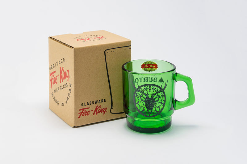 Burton Fire-King Mugs Release Info cups classic mugs glassware Anchor Hocking Pyrex borosilicate  Snowboards winter sports home lifestyle hypebeast collectible