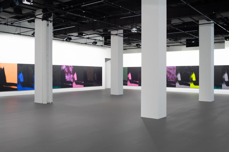 calvin klein andy warhol shadows exhibtion artworks art artists