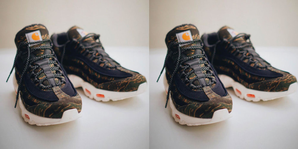 new arrival 1c4cd dca90 Carhartt x Nike Air Max 95 First Look   HYPEBEAST