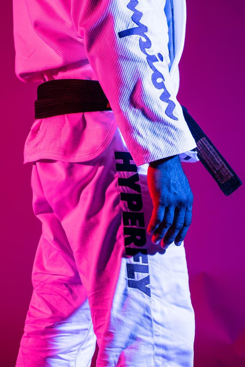 Champion HyperFly Jiu-Jitsu Gi Pants Collaboration kimono shirt jacket pants october 31 2018 release date drop collection