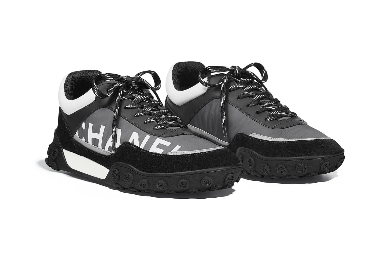 Chanel Nylon \u0026 Calfskin Sneaker Release