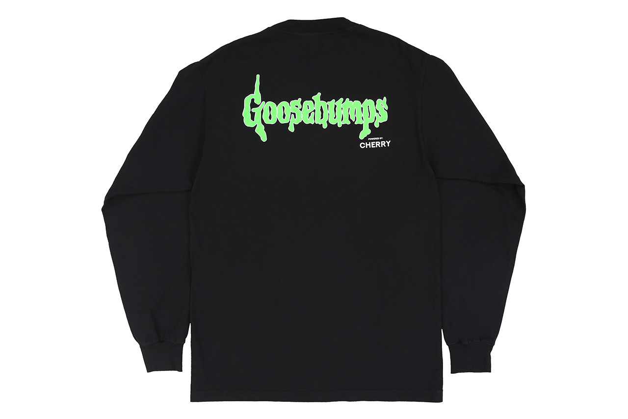 cherry los angeles goosebumps halloween capsule collection drop release date info