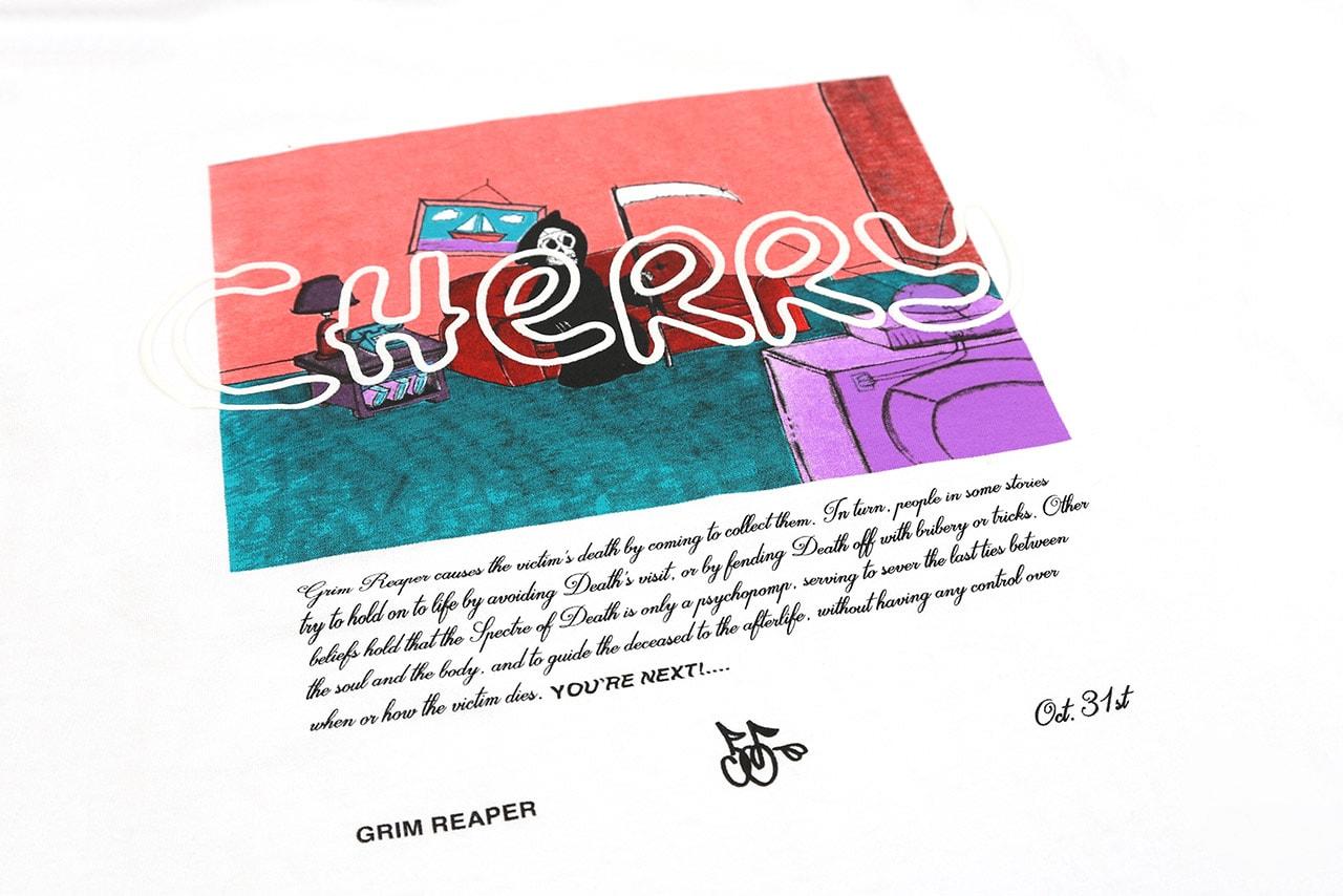 cherry los angeles goosebumps halloween capsule collection drop release date info
