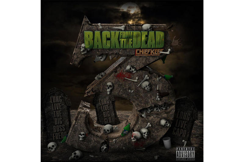 chief keef back from the dead 3 mixtape stream 2018 october halloween