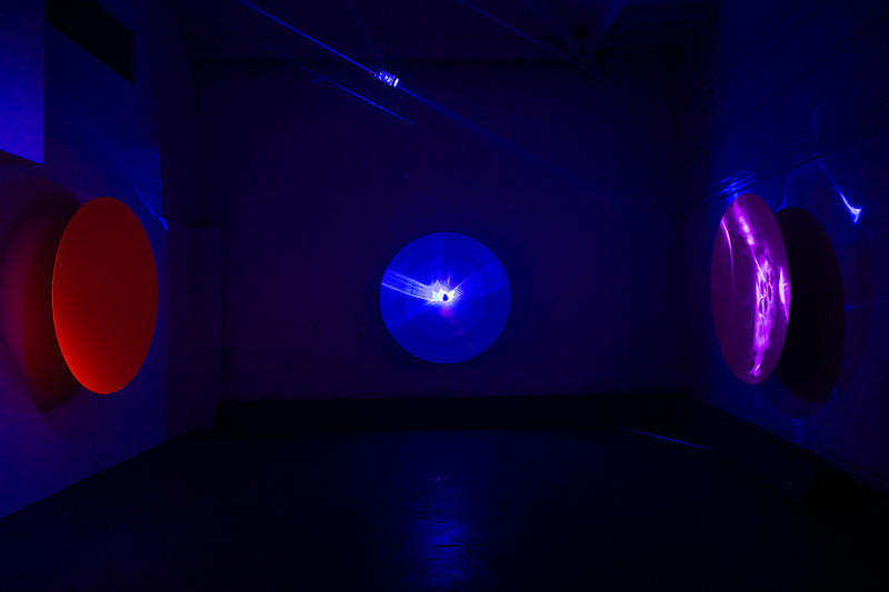 Chris Levine Inner [Deep] Space Exhibition Closer Look Inside Art Artwork Design Lasers