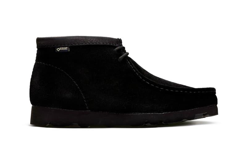 Clarks Fall Winter 18 GORE-TEX Footwear Collection Orignals Wallabee Boot Trigenix Flex release date info buy online