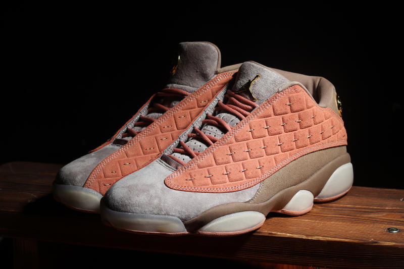 CLOT Air Jordan 13 Low Release Info Date White Brown Grey Gold Chinese Terracotta Warriors Edison Chen Kevin Poon Gold jordan brand