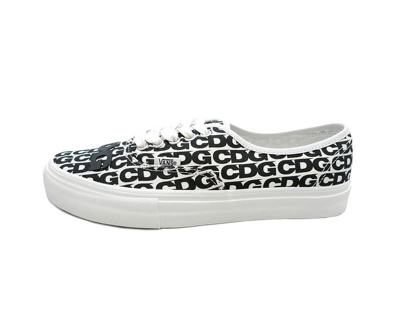 27df67c91b COMME des GARÇONS CDG Vans Authentic Release date black white sneaker japan  logo print