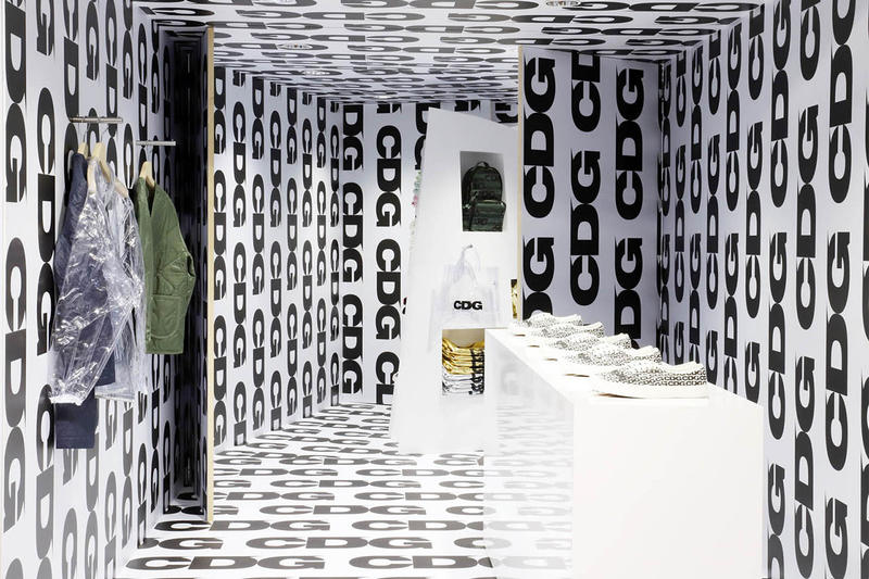 Comme Des Garçons Dover Street Market Installation Retail Space Clothing Fashion Cop Purchase Buy Beijing London Los Angeles New York City Singapore Hong Kong Seoul Tokyo Osaka