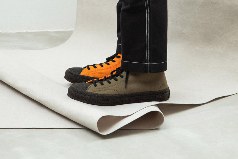 JW Anderson x Converse Chuck Taylor '70 Felt On Foot Closer Look To Buy Availability Release Details Drop Info
