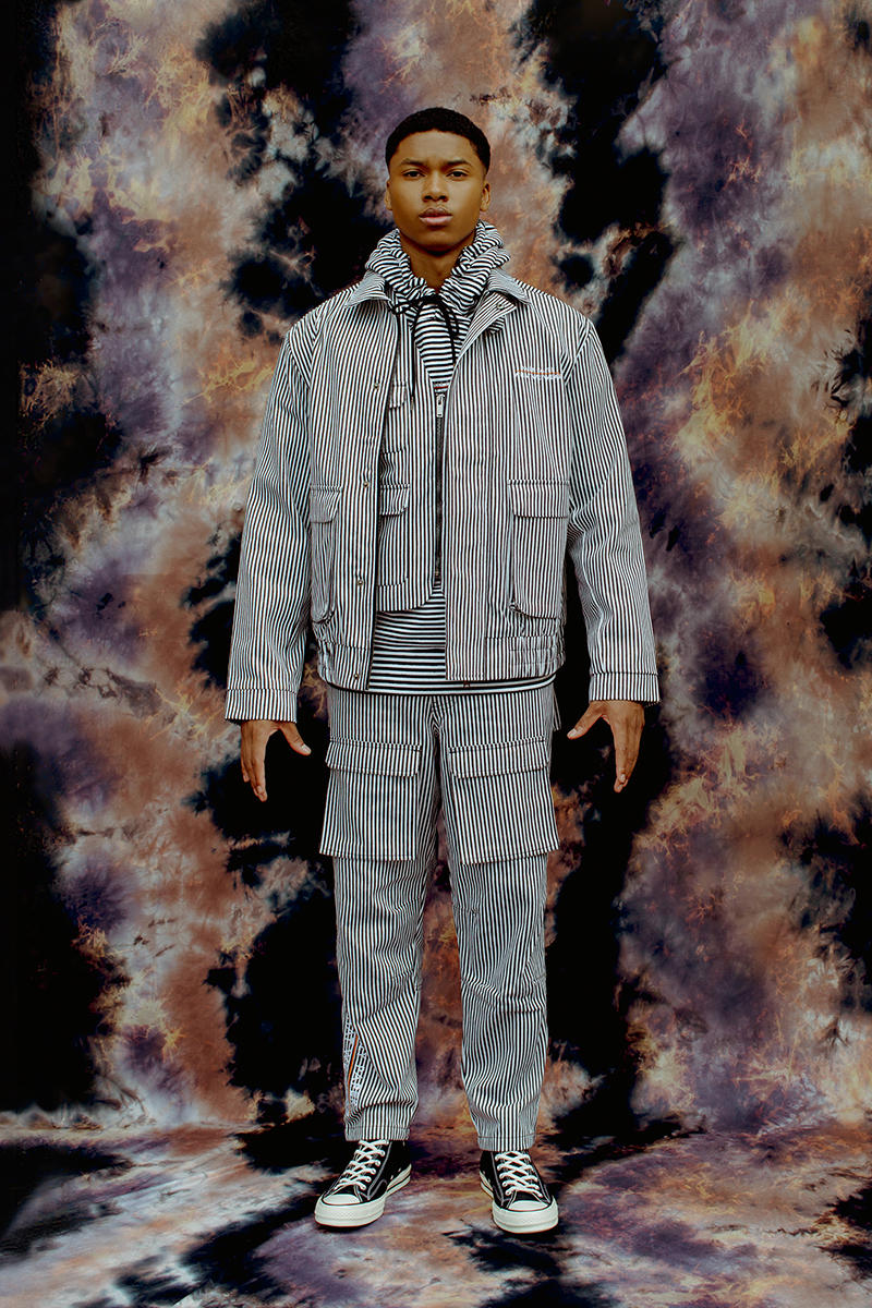 Daily Paper What We Wear Collaborative Capsule collection outerwear shirts stripes cargo pants release info