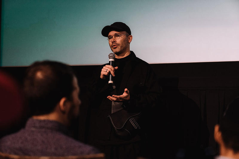 daniel arsham adidas futurecraft 4d interview editorial footwear 2018 october past present future hourglass part iii future new york city release event party screening movie short film