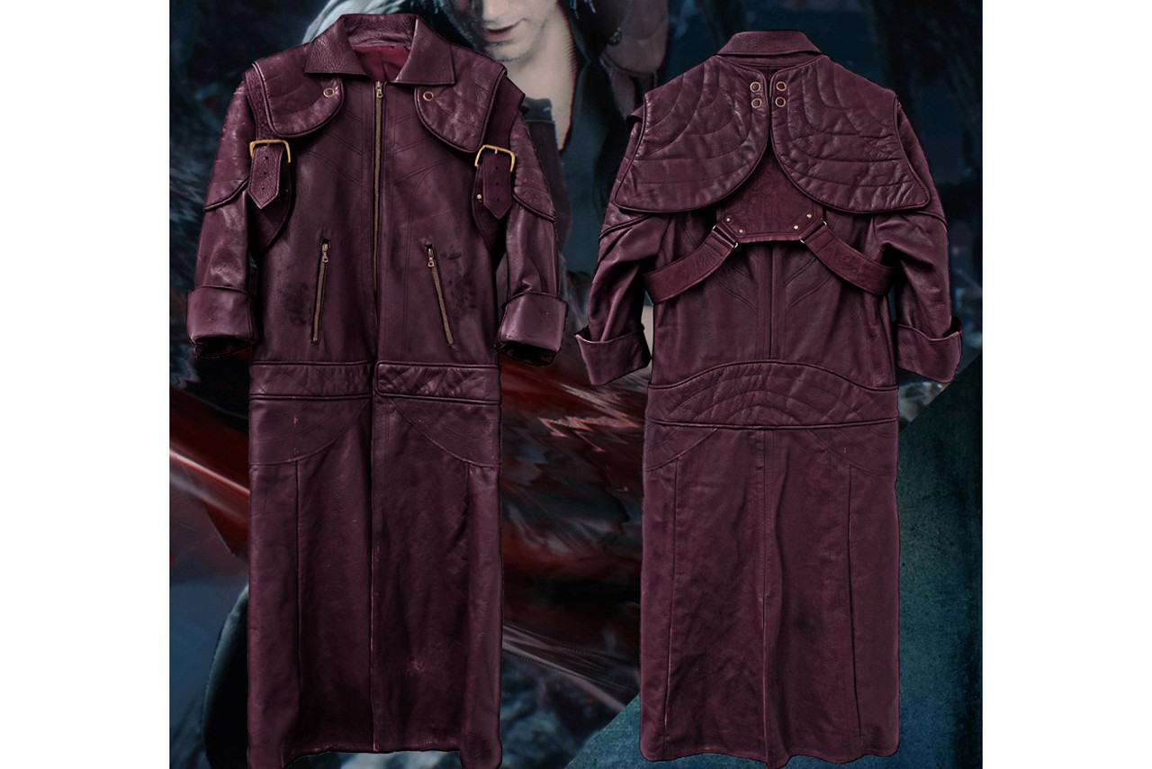 Devil May Cry 5 Ultra Limited Edition Dante Leather Jacket $8,600 USD Release Details Information