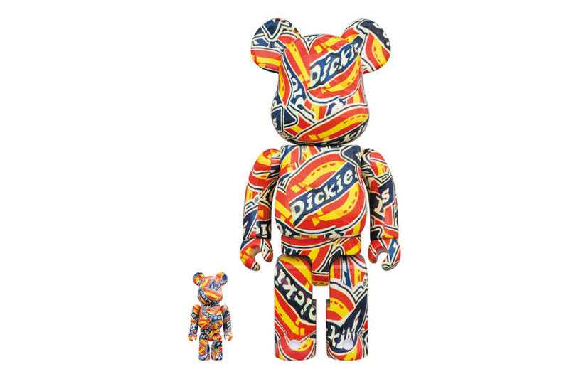 Dickies x Medicom Toy BE@RBRICK Release Date 95th anniversary 100% 400% price october 2018 toys collectible bearbrick