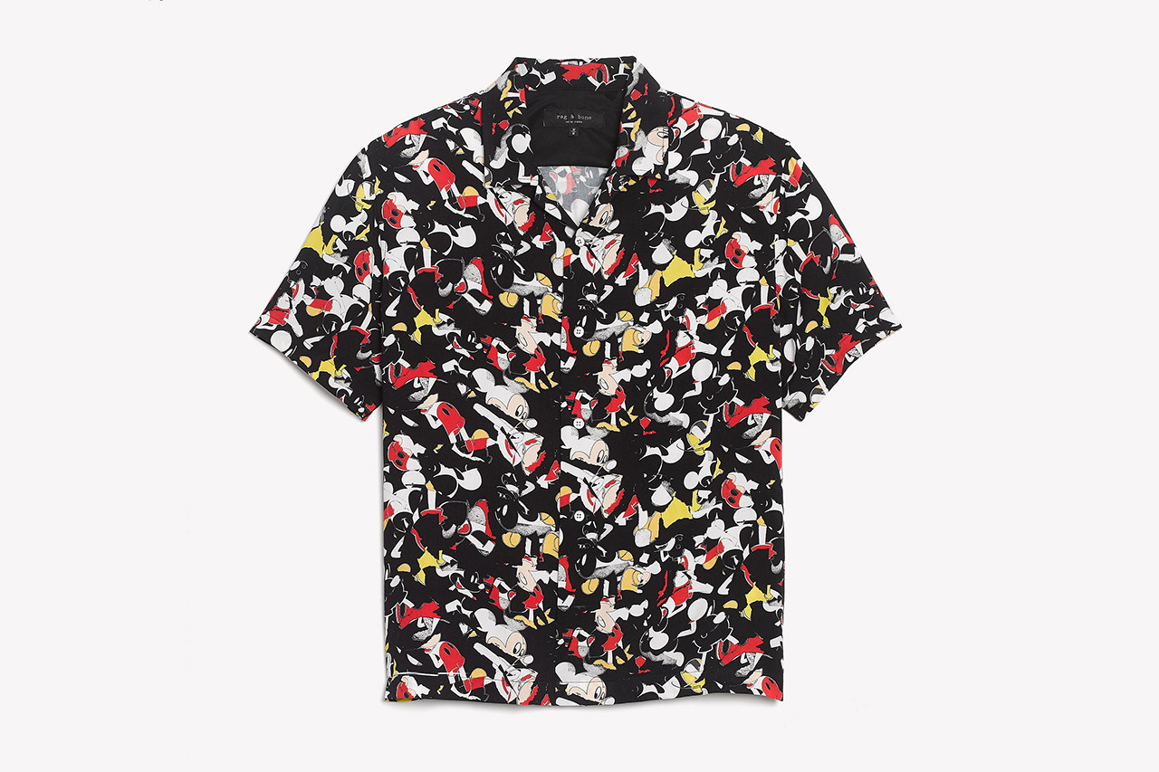rag & bone Disney Mickey Mouse Capsule Info shirt polo tee sweaters New York styling lookbooks Mickey The True Original pants collection print archive sketch walt 2018 november 1 release