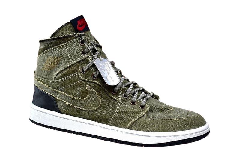 Doctor Dunk AJ1 Decon Prototype Info sneakers shoes kicks Michael Jordan 23 Customs military vintage craft handmade
