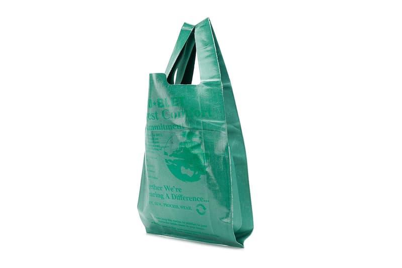Doublet Fall Winter 2018 Comfort Market Bag release info accessories