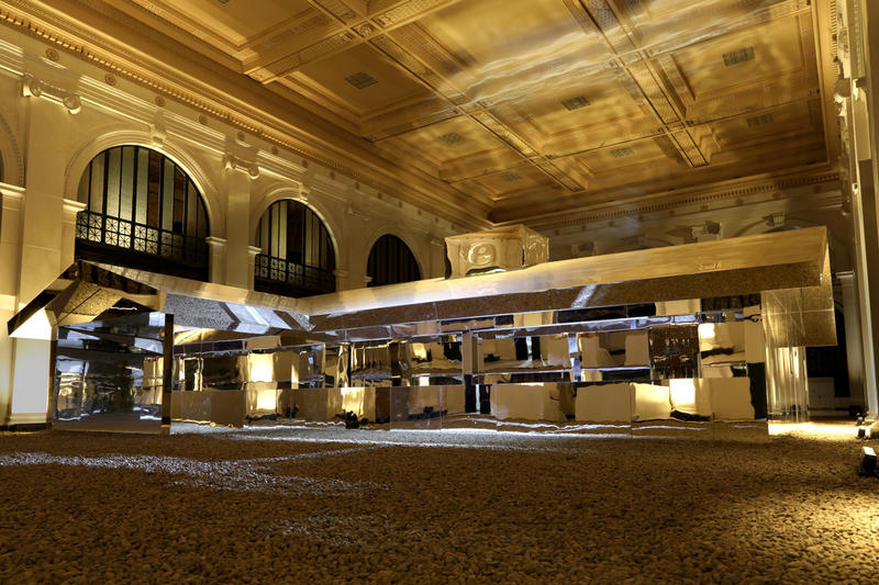 doug aitken mirage detroit installation photos artworks library street collective the state savings bank