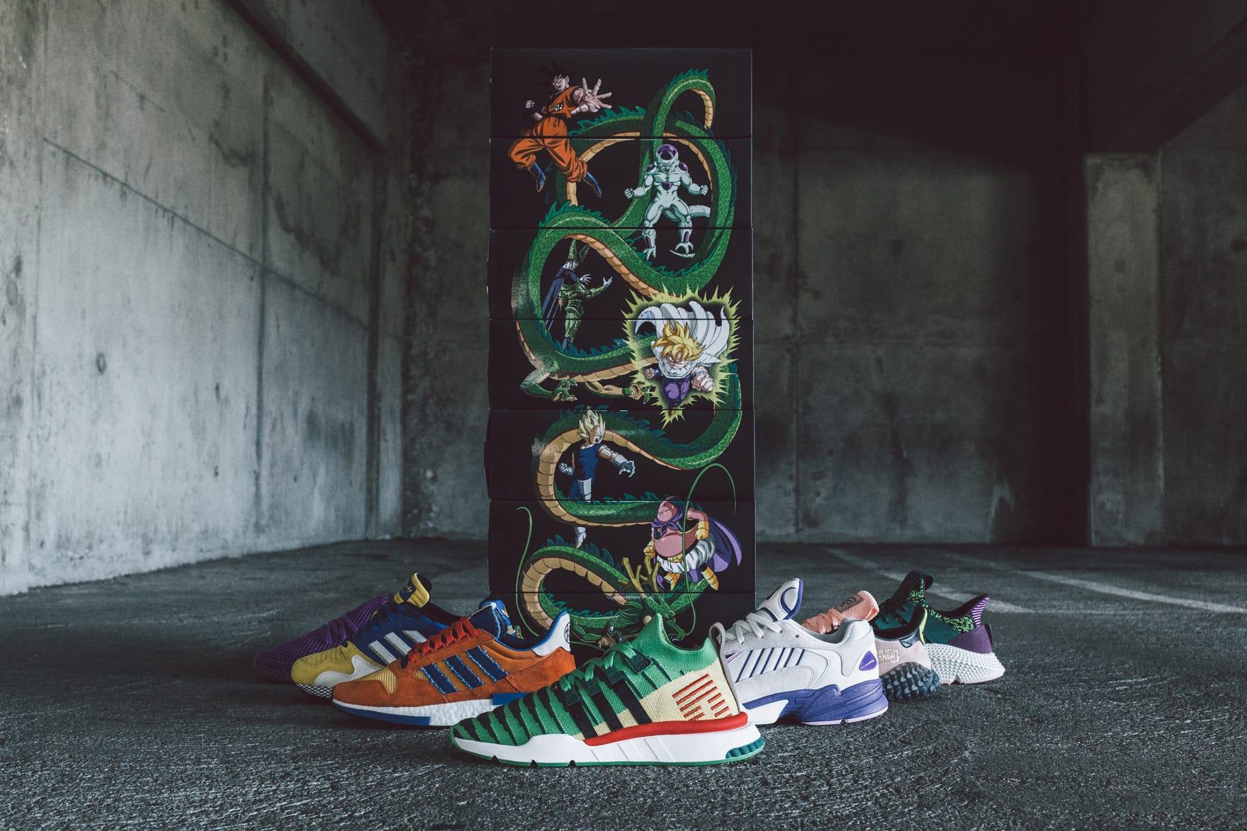 Dragon Ball Z' x adidas Full Collection