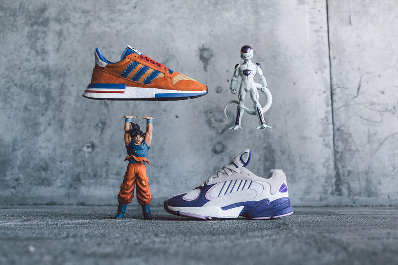 size 40 e414f 9cdb9  Dragon Ball Z  x adidas Full Collection BAIT sneaker release date info ZX  500