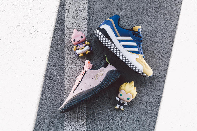 huge selection of 05a4e b4d95 Dragon Ball Z x adidas Full Collection BAIT sneaker release date info ZX  500