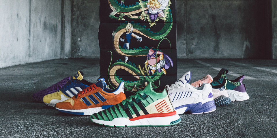 660a953820eca  Dragon Ball Z  x adidas Full Collection BAIT
