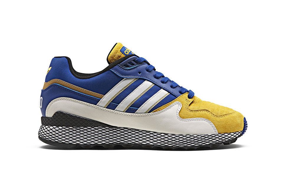 online store 2e9c8 cccc8 Dragon Ball Z x adidas Ultra Tech