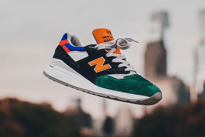 DTLR VILLA New Balance 998 Four 4 Four philadelphia exclusive 2018 october release date info details buy purchase price cost green white black blue red orange sneakers shoes