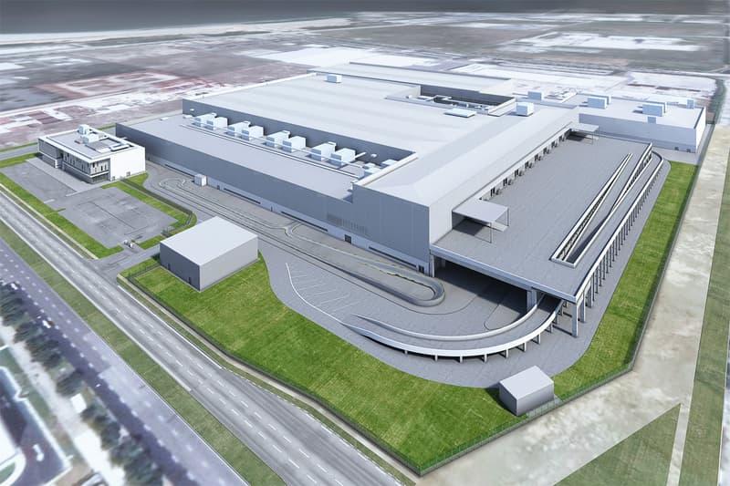 Dyson Electric Car Manufacturing Plant Singapore plans vehicle james dyson rendering