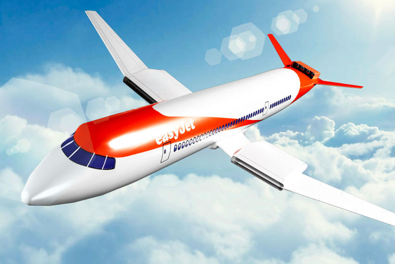 EasyJet to Introduce Electric Passenger Jets by 2030 flight planes travel