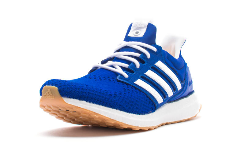 Engineered Garments x adidas UltraBOOST Release date info price consortium sneaker colorway blue red white gum sole purchase online