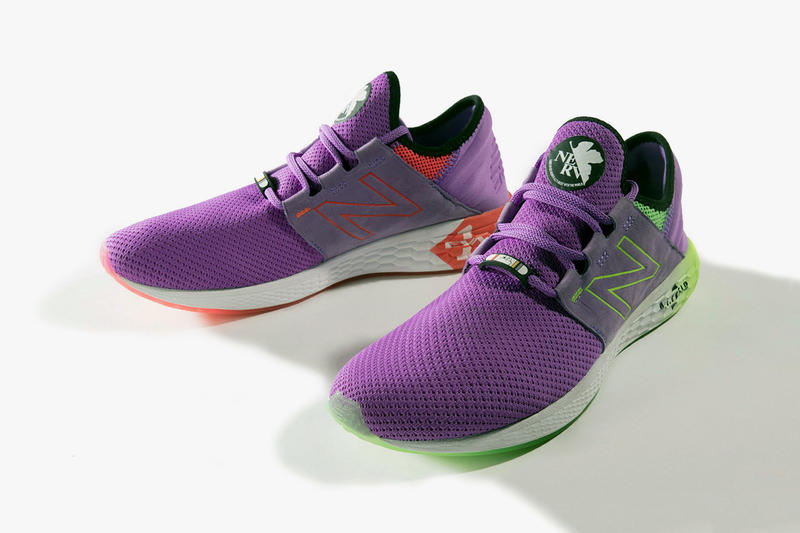 01f7eeeb5e1c Evangelion' x New Balance Fresh Foam Cruz Shoes | HYPEBEAST