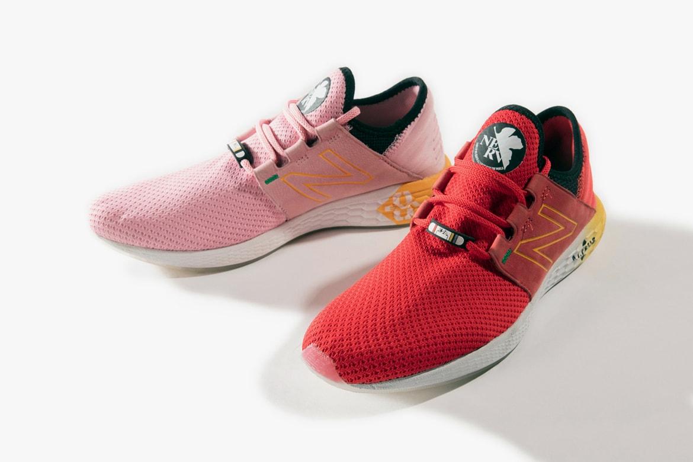 4acc47c82d50f 'Evangelion' x New Balance Fresh Foam Cruz Shoes | HYPEBEAST