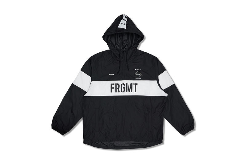 F.C.R.B fragment design mastermind JAPAN HYPEFEST collaboration exclusive pullover jacket hooded sportswear tee shirt keep calm and hiroshi fujiwara sophnet real bristol drop release date october 6 7 2018 release launch
