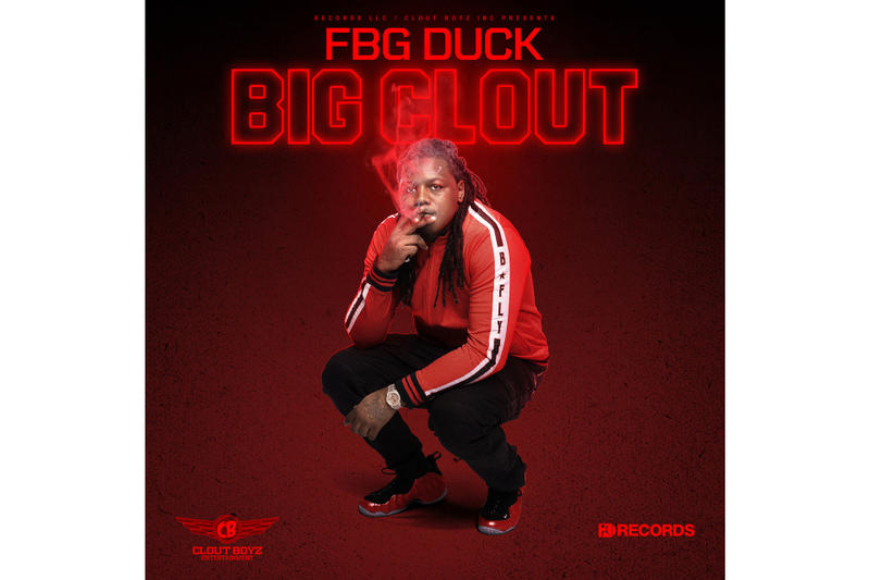 FBG Duck Big Clout Album Stream Listen New Music Track Song mamas house or not young dutchie cali using me play them games mention