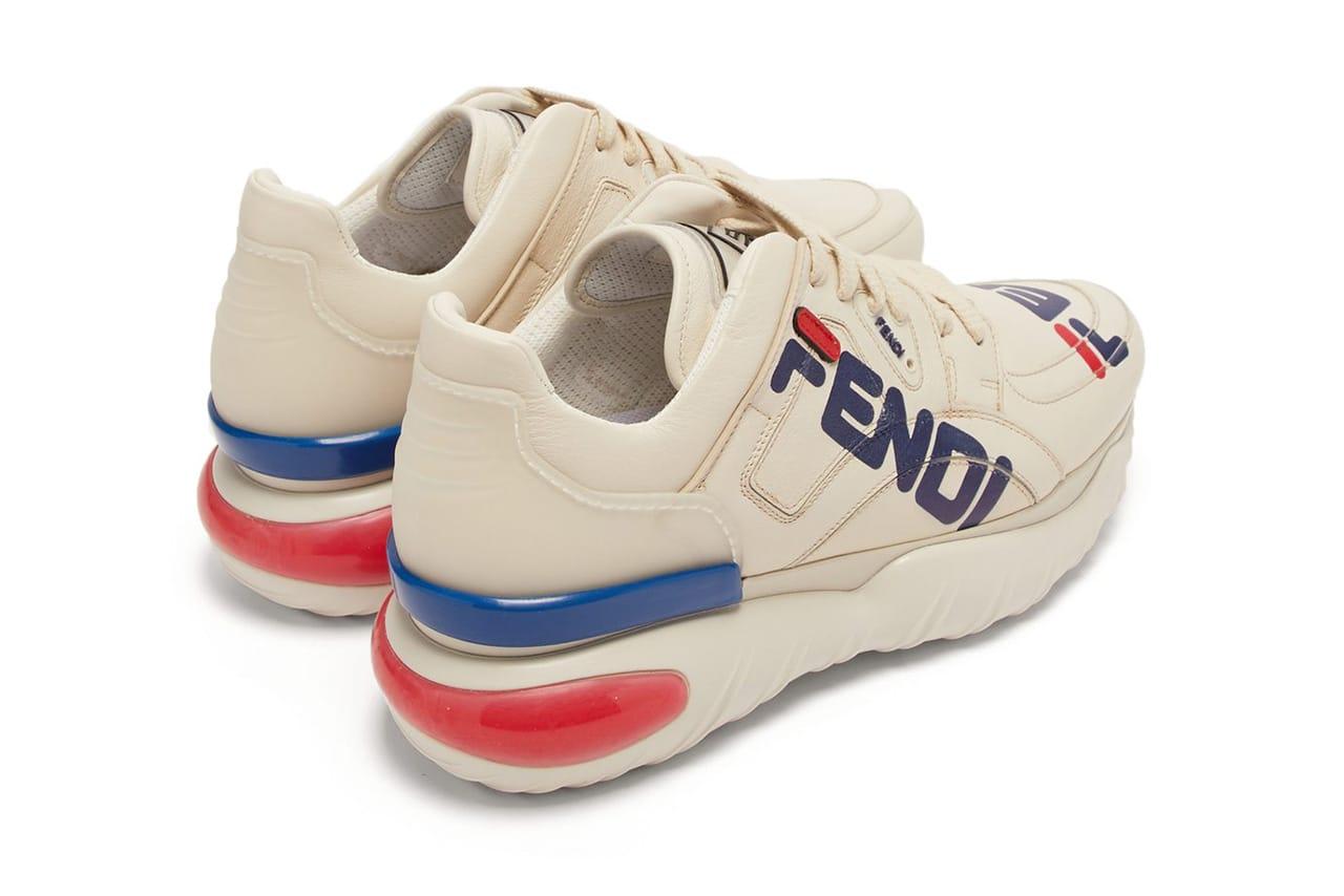 Fendi x Fila Mania Logo Sneaker Now