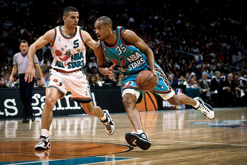 FILA Signs Grant Hill to Lifetime Contract basketball hall of fame NBA Detroit Pistons orlando magic 1990 sports shoes footwear