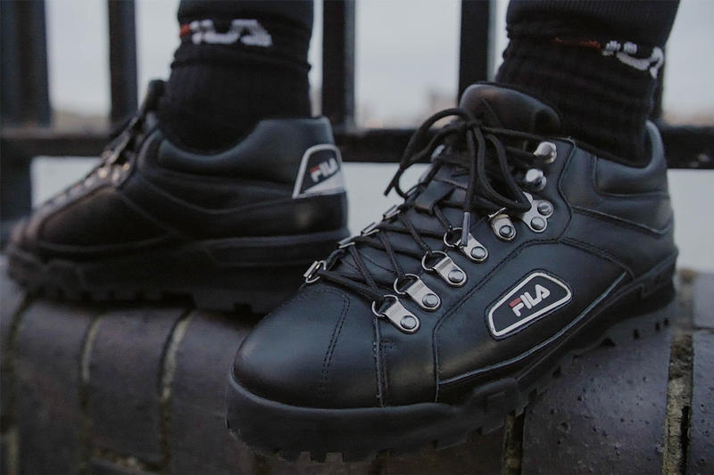 "Fila Trailblazer ""All Weather"" Sneaker Details Shoes Trainers Kicks Sneakers Footwear Release Date Information For Sale"