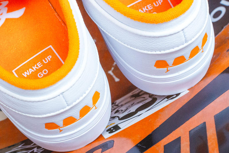 "FLY x Nike SB Janoski ""Wake Up Go Skate"" Release date collaboration sneaker price jeff han white orange china retailers skateboarding skaters"