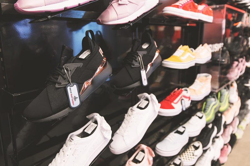 Foot Locker Open Second Singapore Retail Location Sneaker Nike Uptempo Fila Disruptor