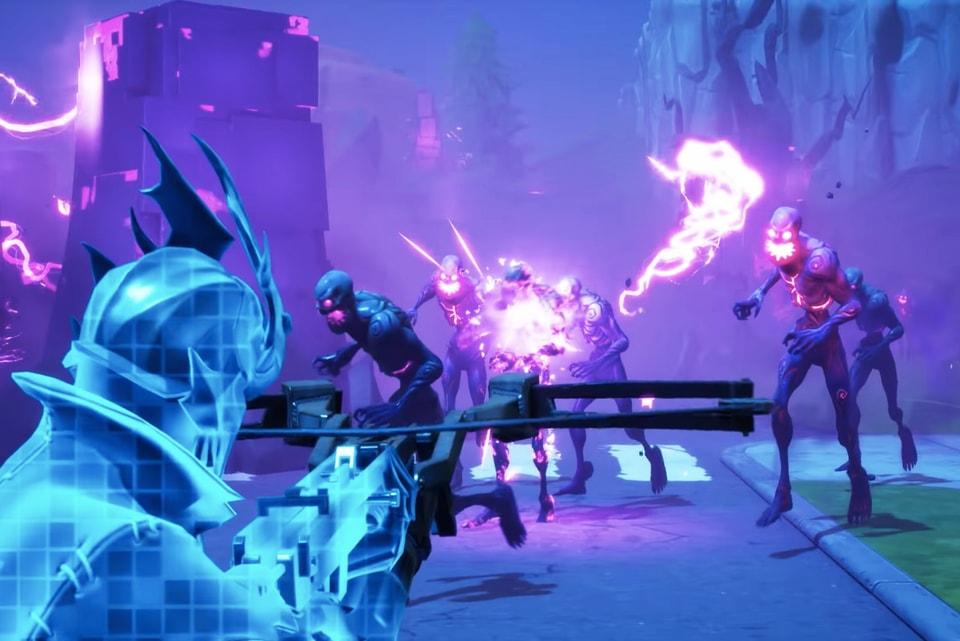 Fortnite Zombies Halloween Gamemode New Weapon Hypebeast