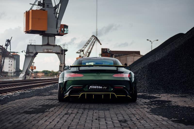 Fostla Mercedes AMG GT S 650 PS custom wrap malachite green upgrade 50 units europe